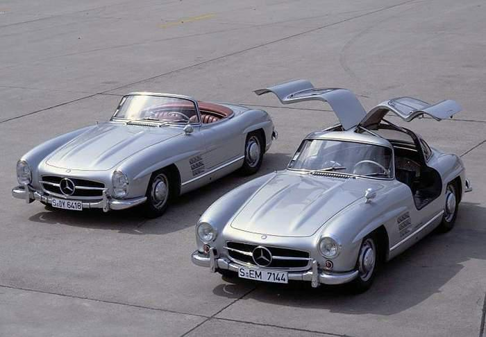 Mercedes Benz 300sl Roadster. Mercedes Benz 300SL W198