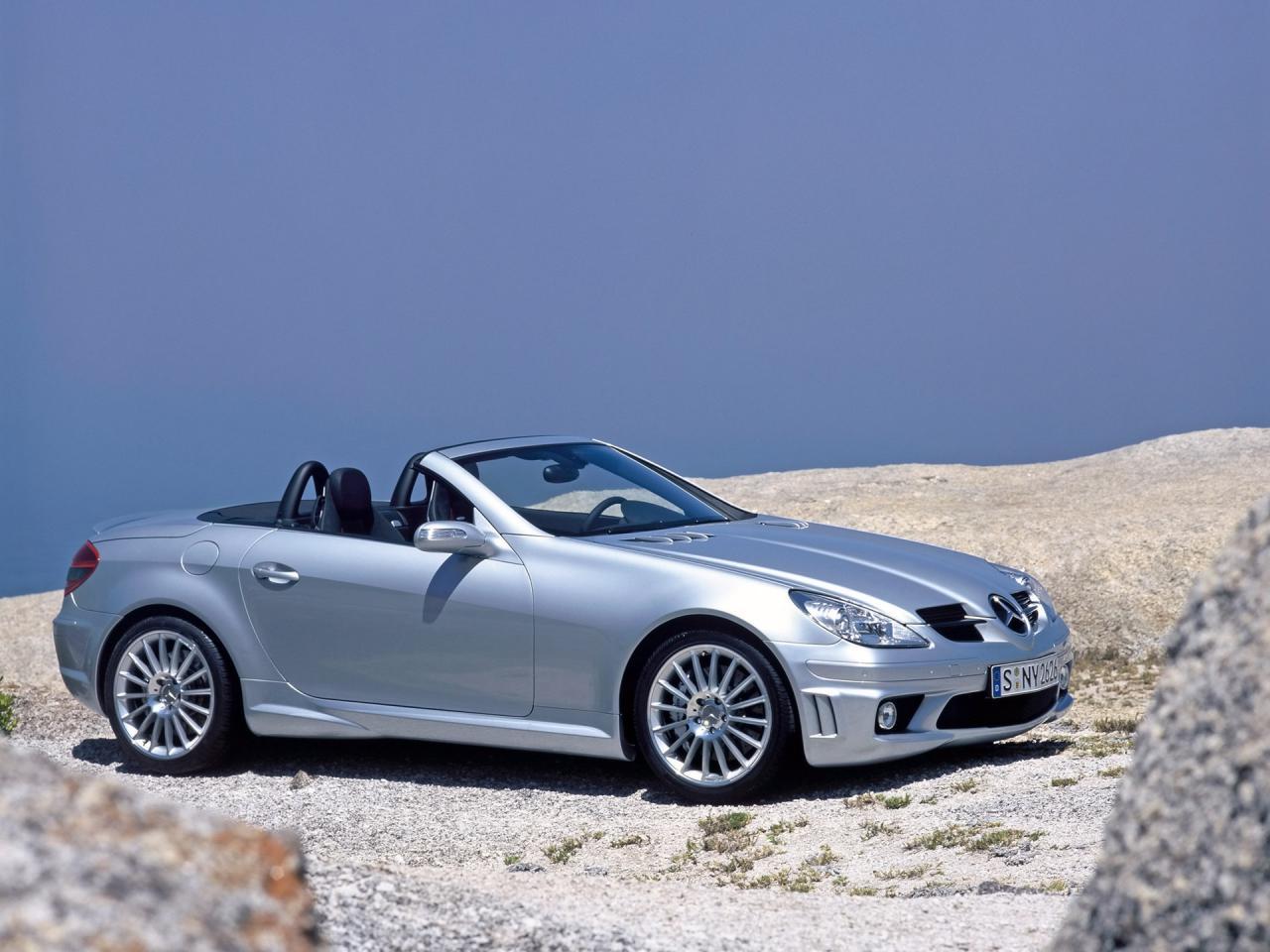 2006 Mercedes Benz SLK R171 55 AMG