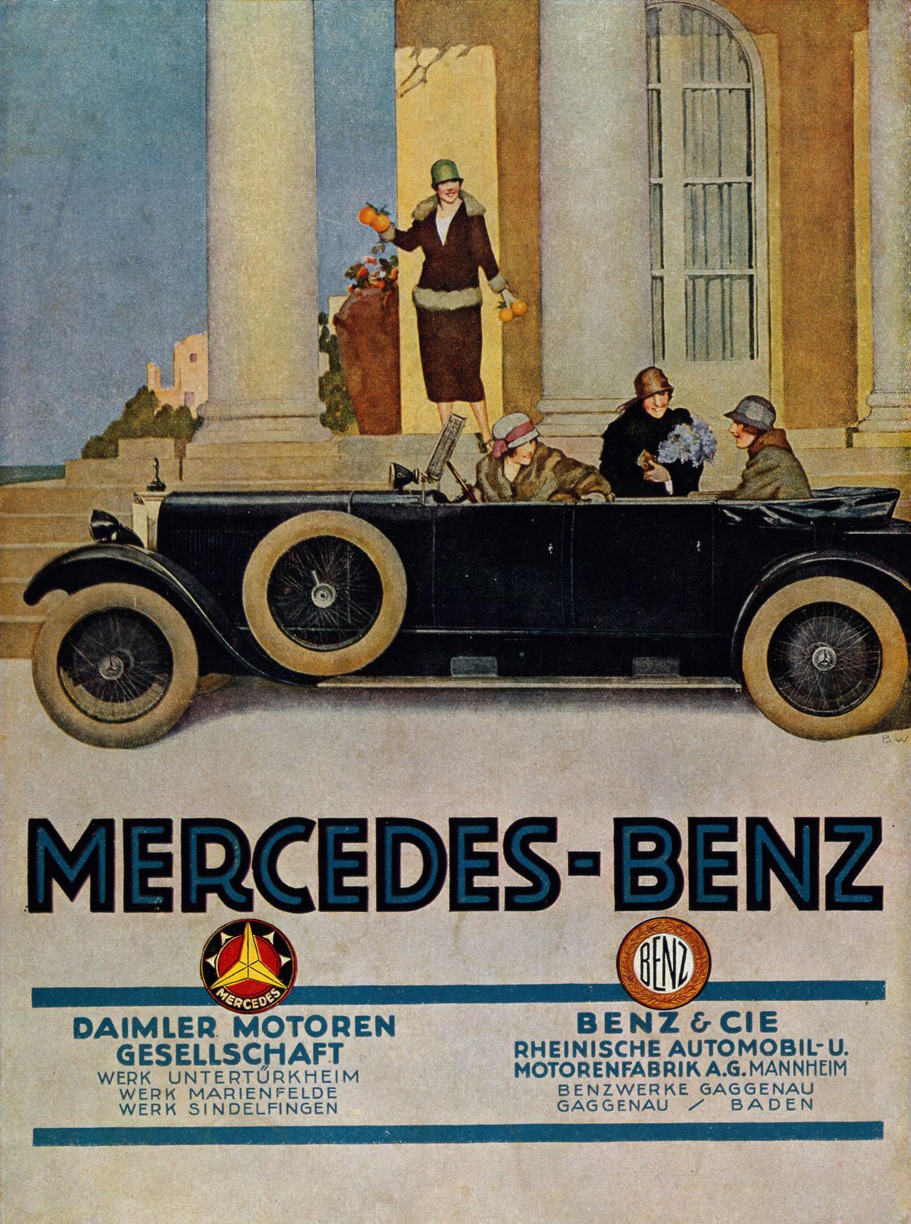 Mercedes Benz DMG Daimler-Motoren-Gesellschaft