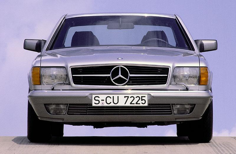 Mercedes Benz W126 Kupé