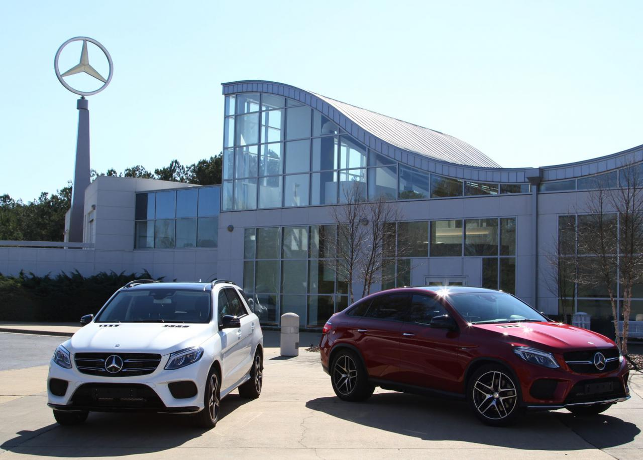2015 Mercedes Benz GLE