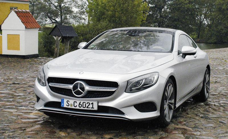 Mercedes Benz C217 Coupe