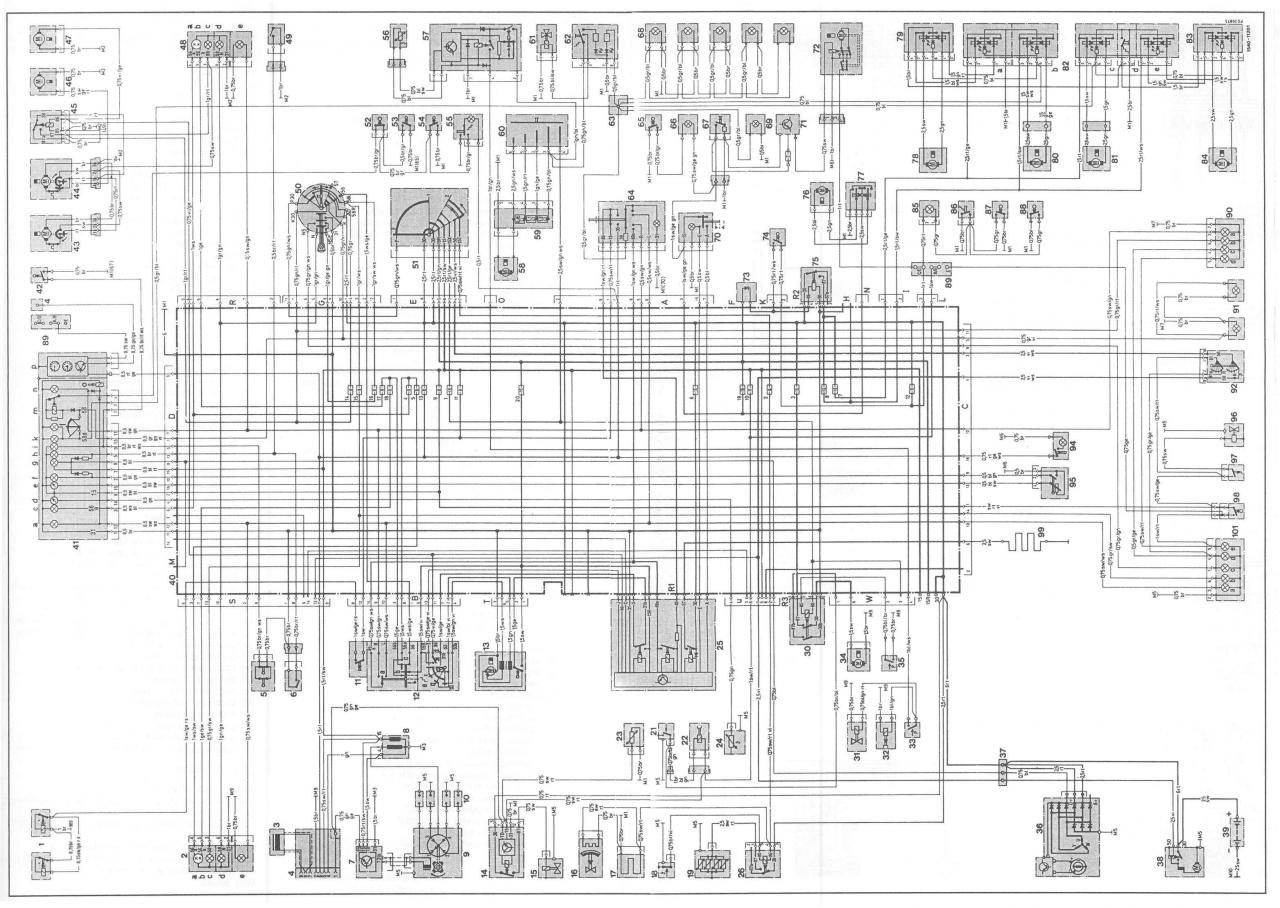 Mercedes Benz Wiring Diagrams Free : Mercedes vito w wiring diagram and