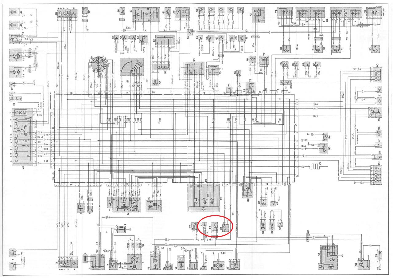 1995 Mercedes S500 Fuse Diagram Com